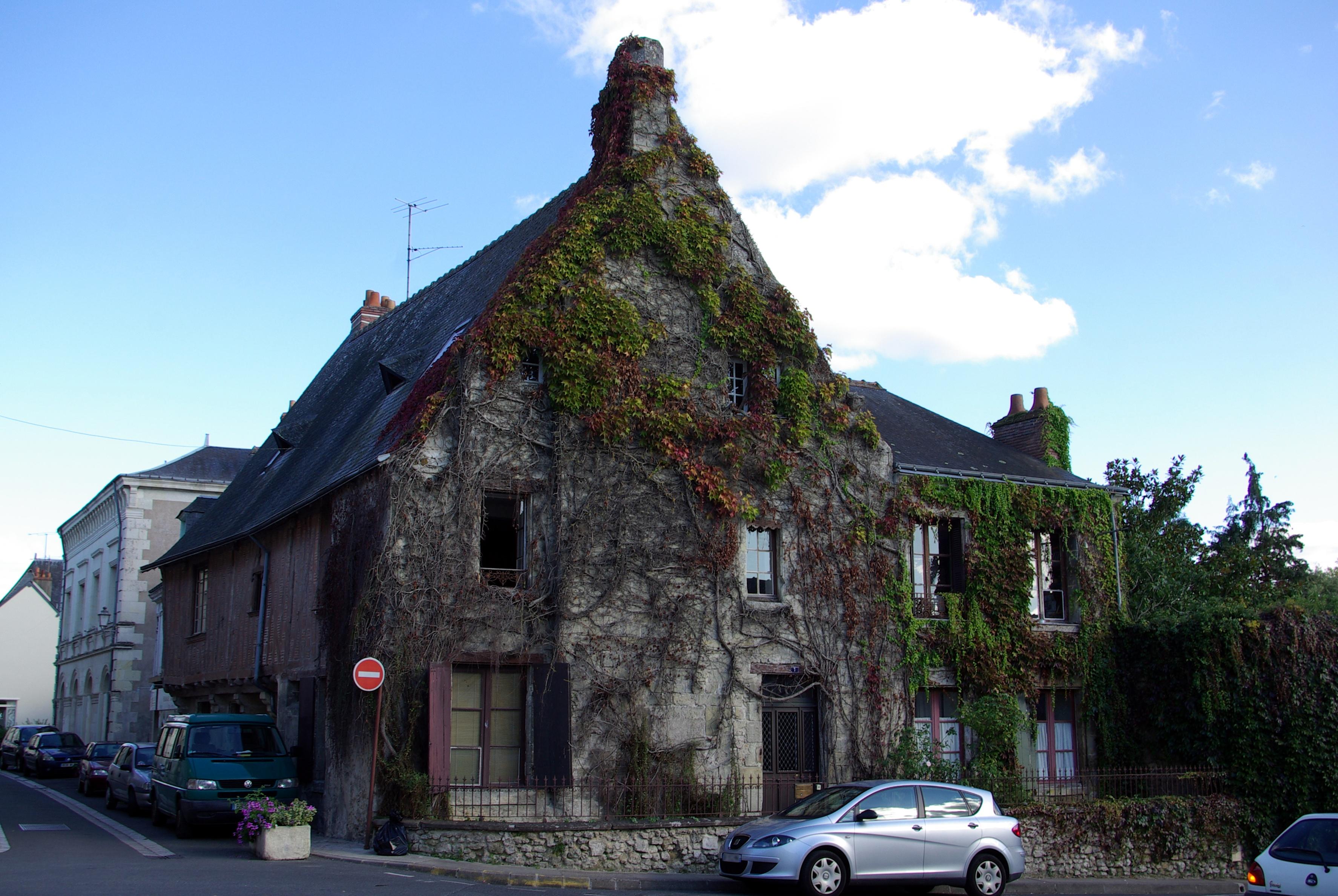 File:Maison 21 rue de la mairie, XVe, Azay-le-Rideau 1.jpg ...