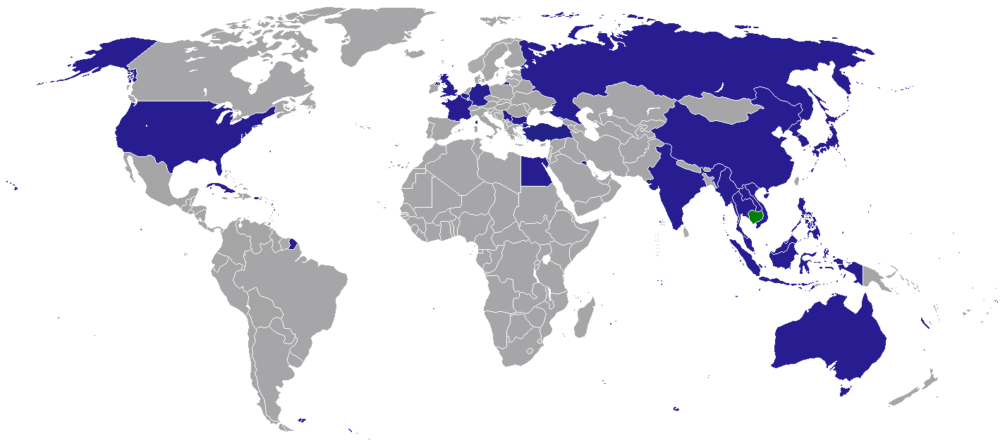 File map of diplomatic missions of cambodia png for Le commerce exterieur