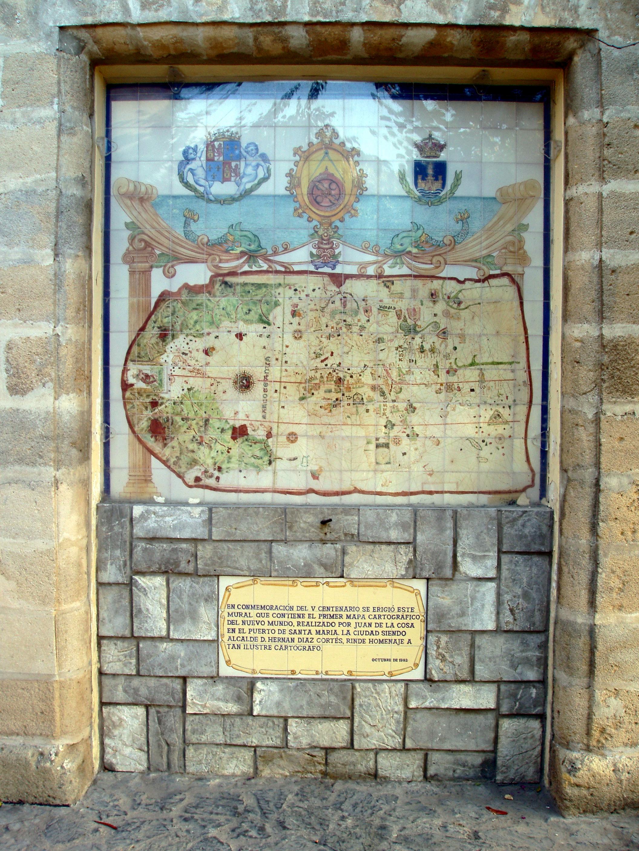 File:Mapa de Juan de la Cosa, Castillo de San Marcos (9092777506 ...
