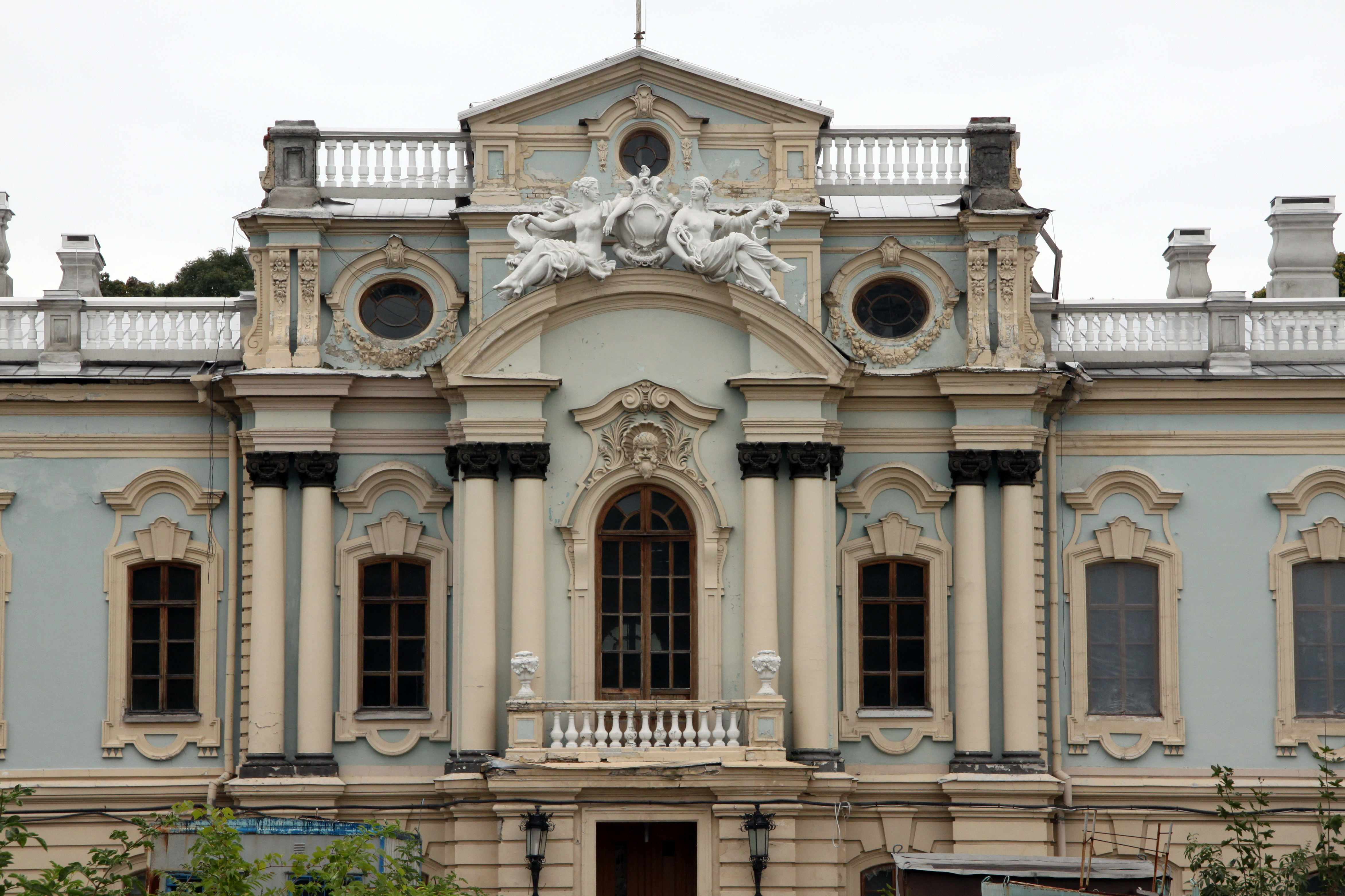 Mariinsky Palace in Kiev: history, photos, work schedule, address 17