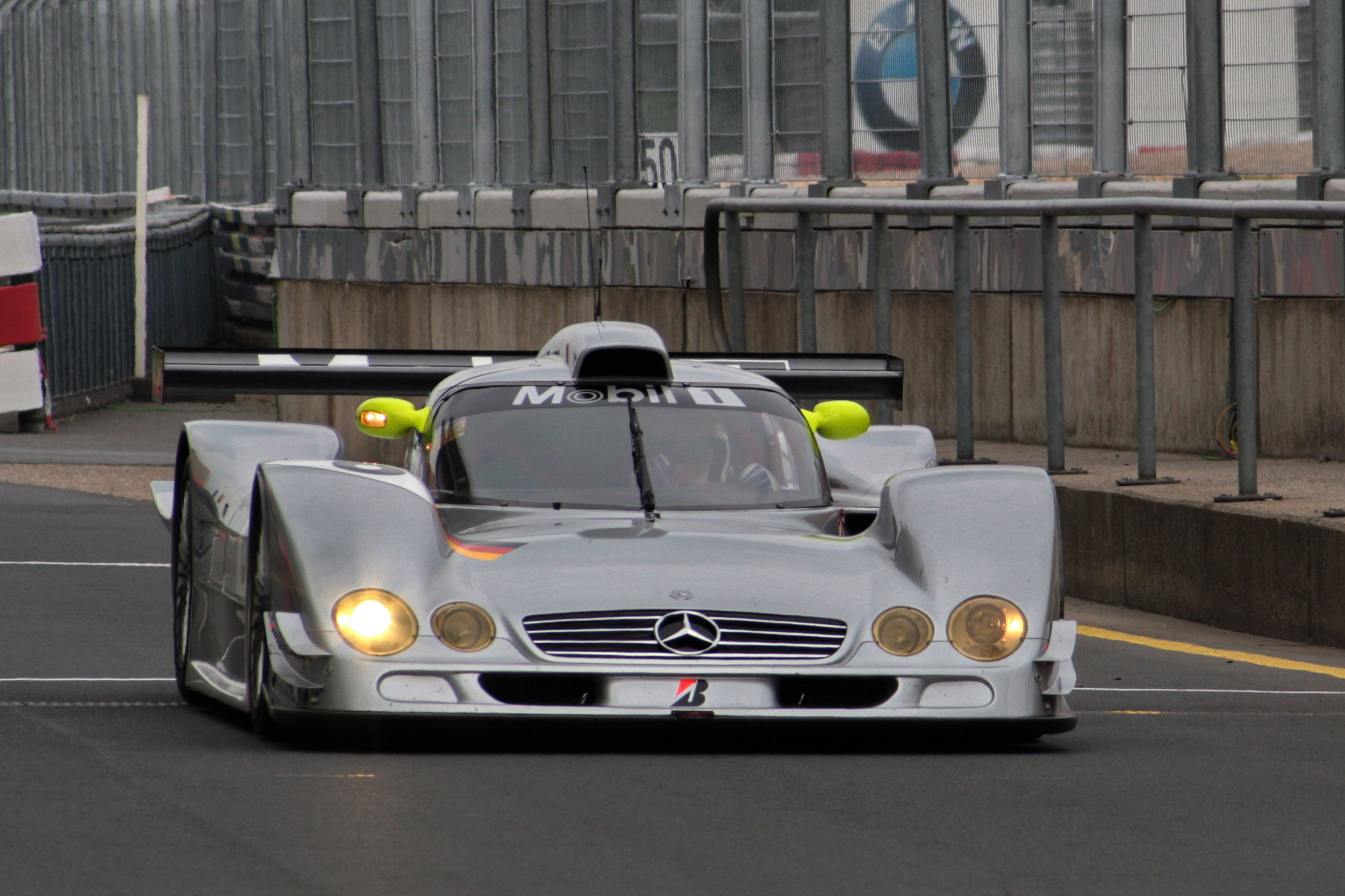 Mercedes-Benz CLR front 2009 Nurburgring
