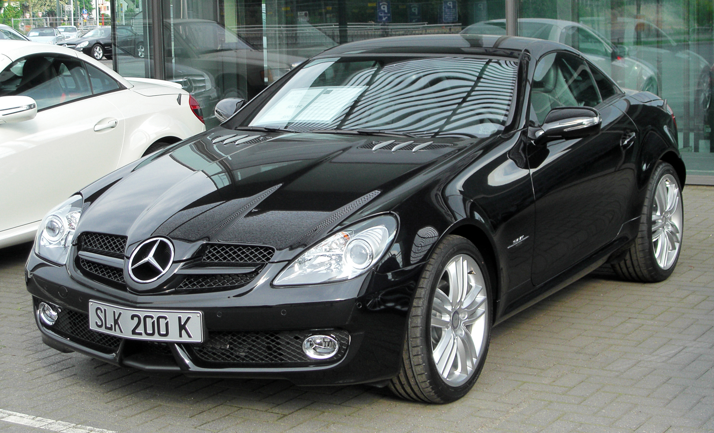 File:Mercedes SLK 200 Kompressor Grand Edition (R171) Facelift front-1 ...