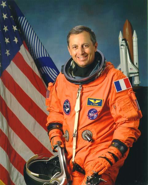 ESA astronaut Michel Tognini, NASA photo (2003)Source: Wikipedia Michel_Tognini.jpg
