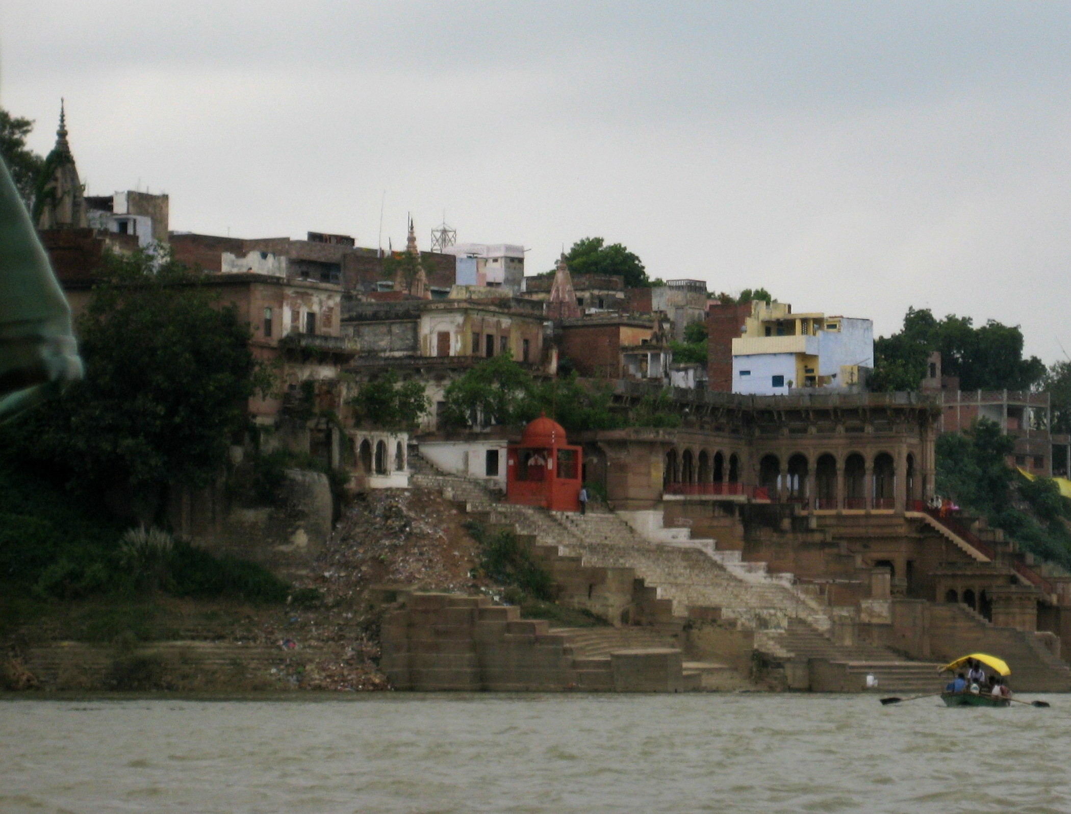 Mirzapur view from River Ganges.