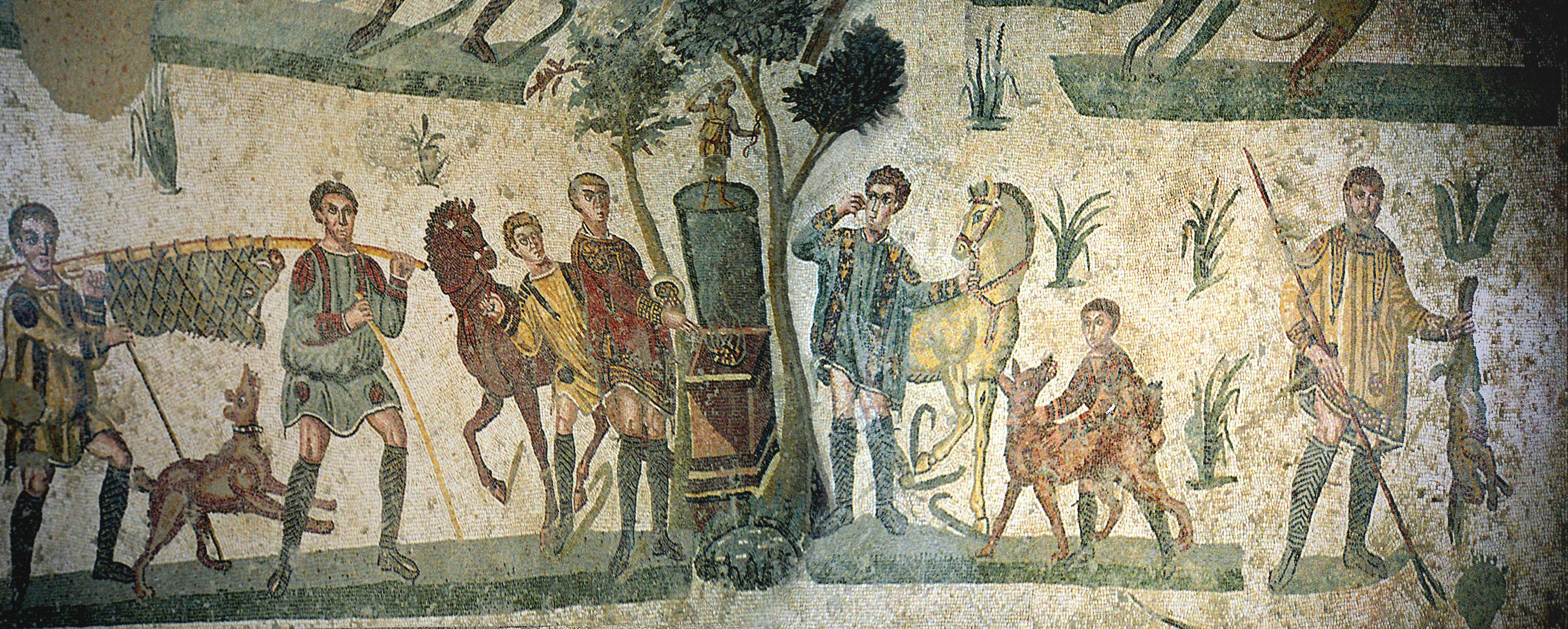 Mosaic in Villa Romana del Casale, by Jerzy Strzelecki, 06.jpg