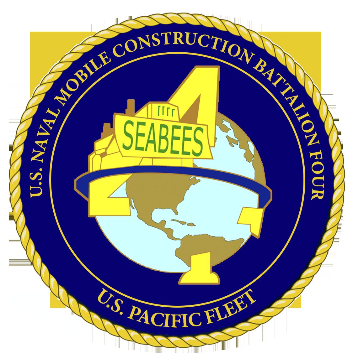 U.S Mobile Construction Battalion 8 Patch