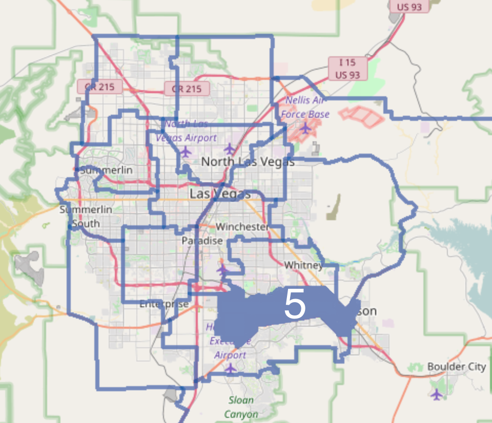 Nevada Revised Statutes >> Nevada Senate, District 5 - Wikipedia