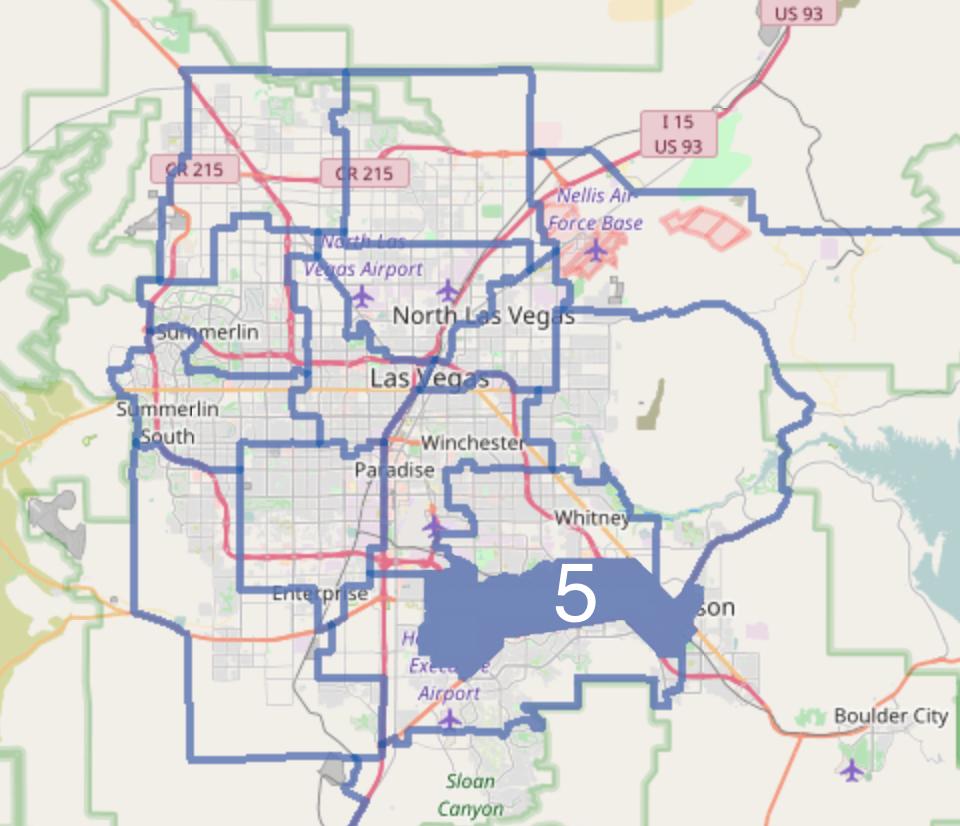 Nevada Senate District 5 Wikipedia