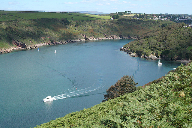 Newton and Noss, mouth of the Yealm - geograph.org.uk - 546356