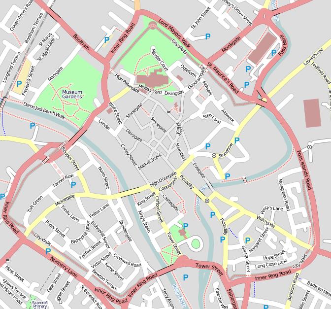 street map york uk File Osm Map Of York Uk 2 Png Wikimedia Commons street map york uk
