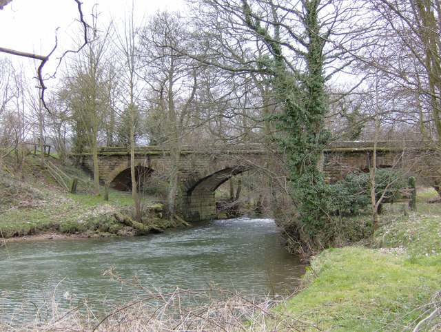 File:Old railway bridge over the Rye - geograph.org.uk - 366856.jpg