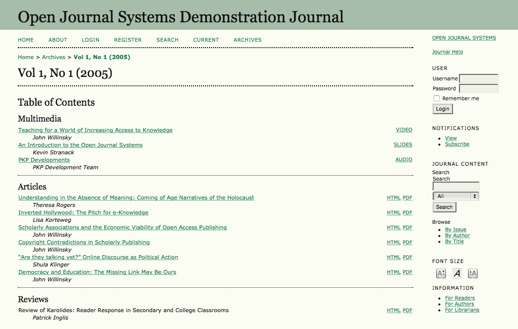 Open Journal Systems - Wikipedia
