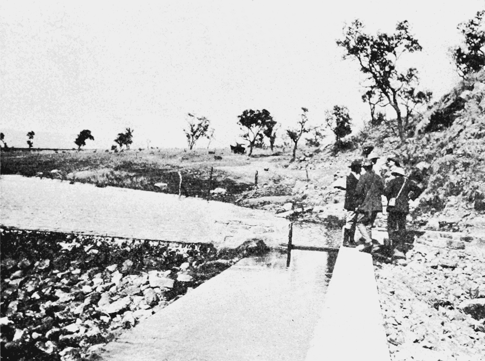 PSM V68 D151 Irrigation dam and trench on ginsbergs farm.png