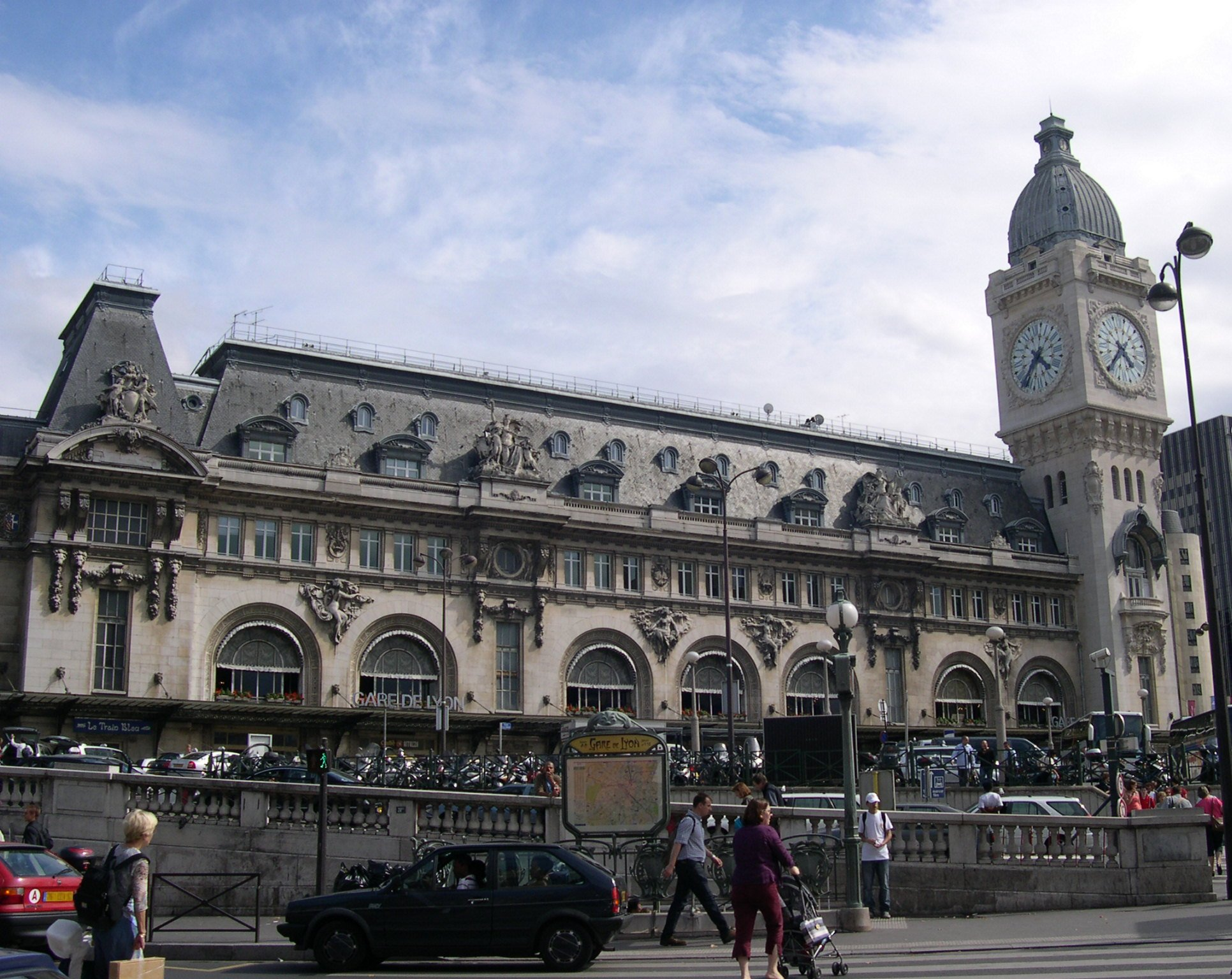 Point de rencontre gare de lyon part dieu