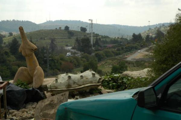 מבט ממפעל הברונזה בבית נקופה