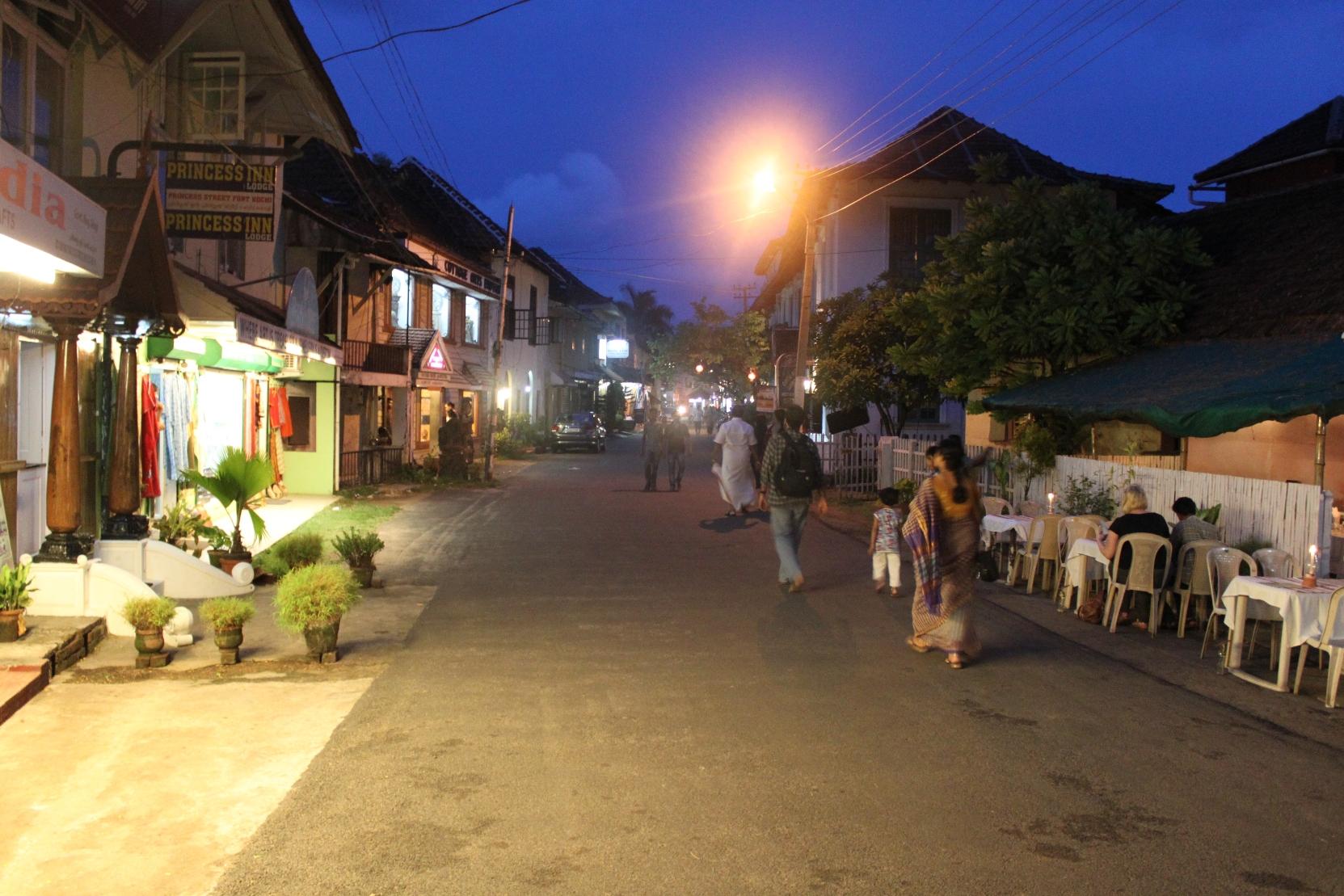 Homesty File Princess Street Fort Cochin Jpg Wikimedia Commons
