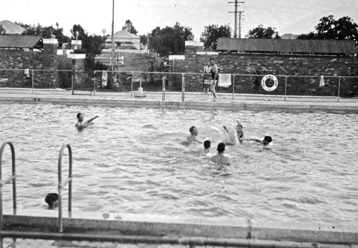 filequeensland state archives 510 dalby olympic swimming pool october 1940png - Olympic Swimming Pool 2013