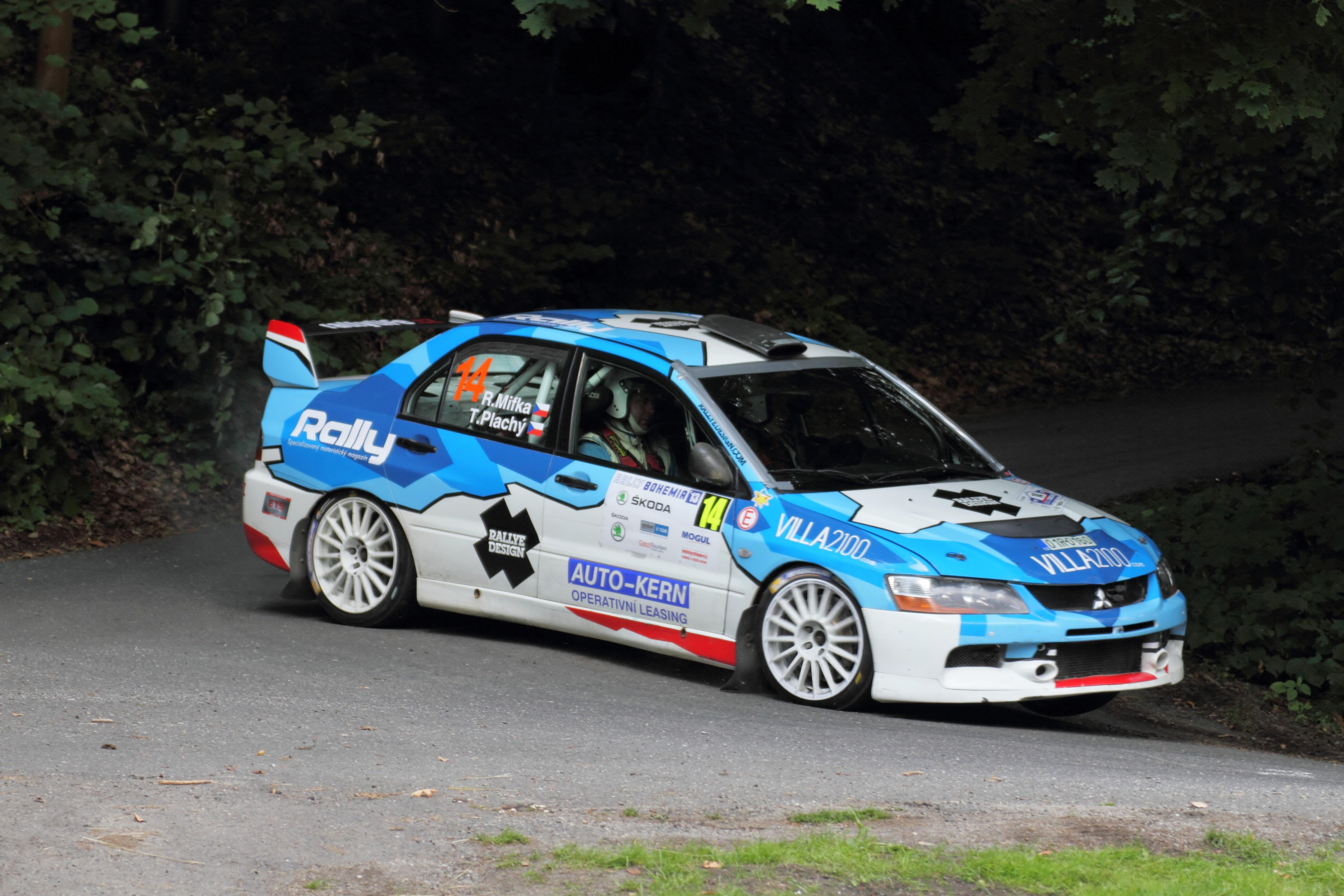 File:Rally Bohemia 2013 - Mifka, Mitsubishi Lancer Evo IX.jpg - Wikimedia Commons