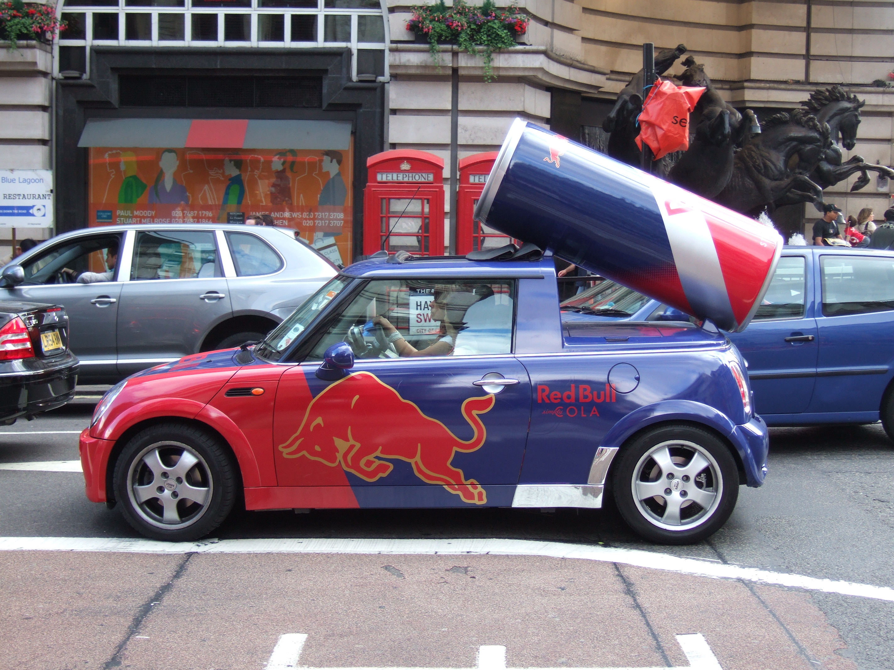 file red bull cola mini at piccadilly. Black Bedroom Furniture Sets. Home Design Ideas