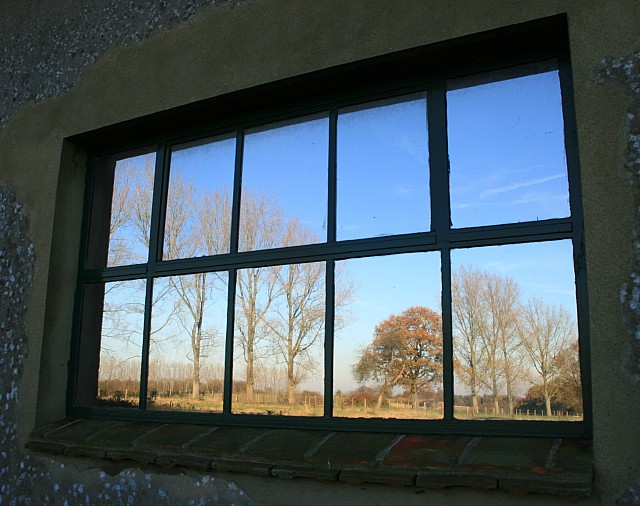 File:Reflections in the office window - geograph.org.uk - 616822.jpg