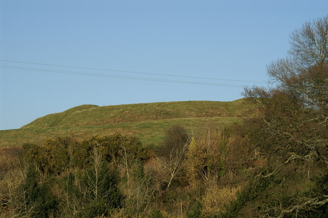 Remains of Stowey Castle - geograph.org.uk - 131604