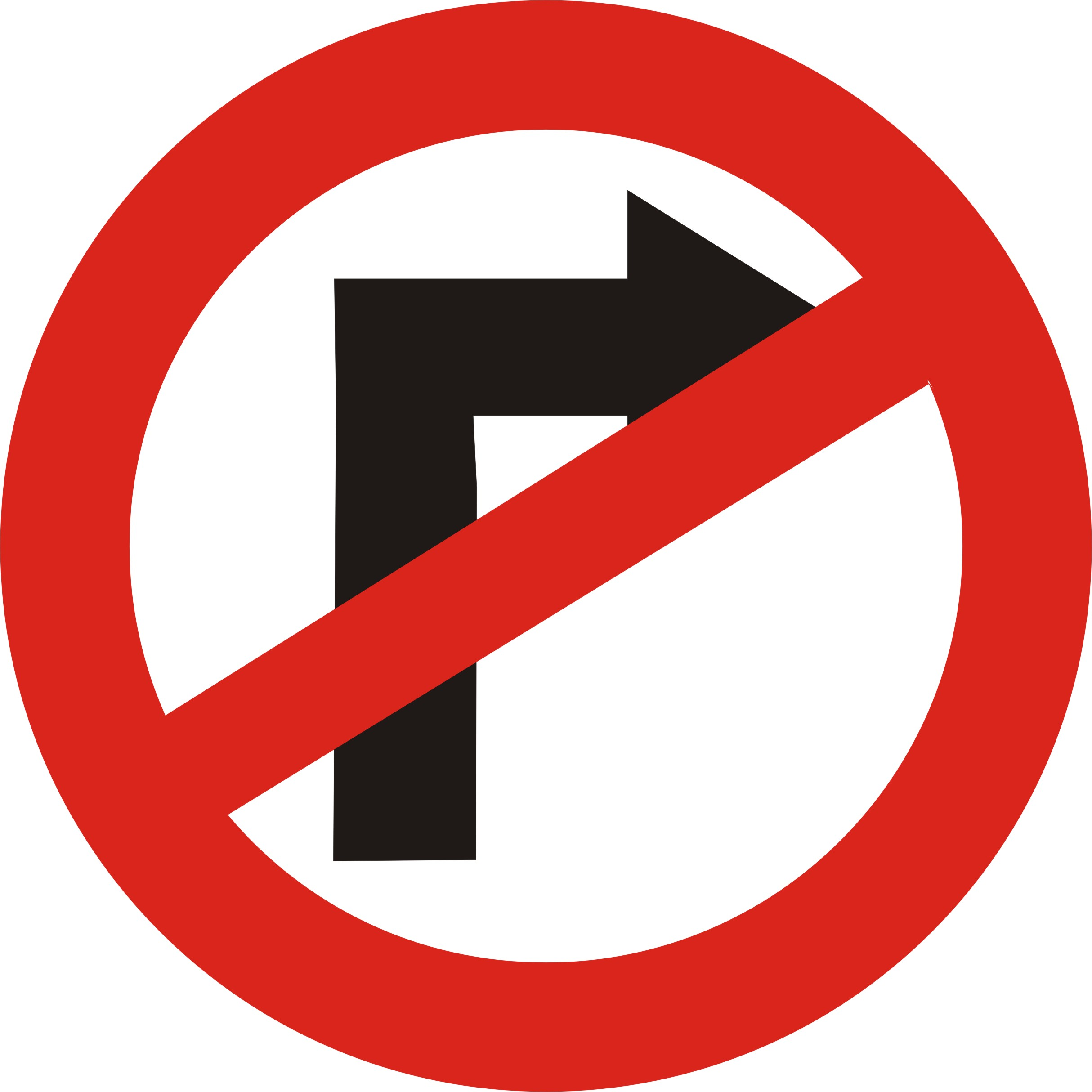 File:Road Sign No Right Turn.jpg  Wikimedia Commons