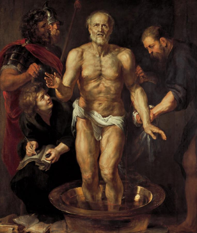 Mort de Sèneca, de P.P. Rubens