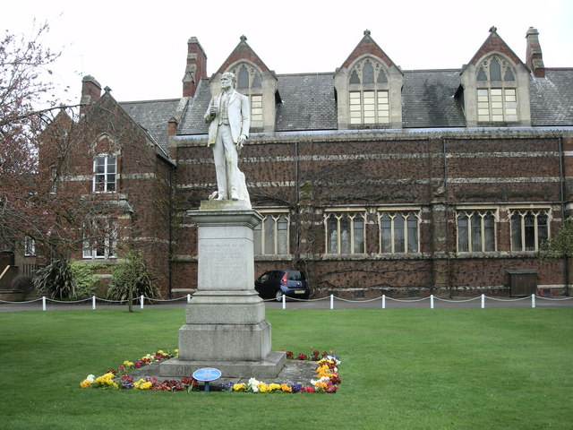 Rugby School -Thomas Hughes - geograph.org.uk - 1246022