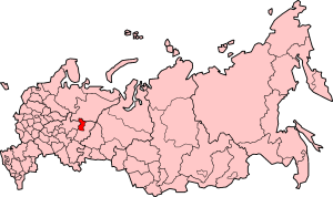 territory with special status within Perm Krai, Russia