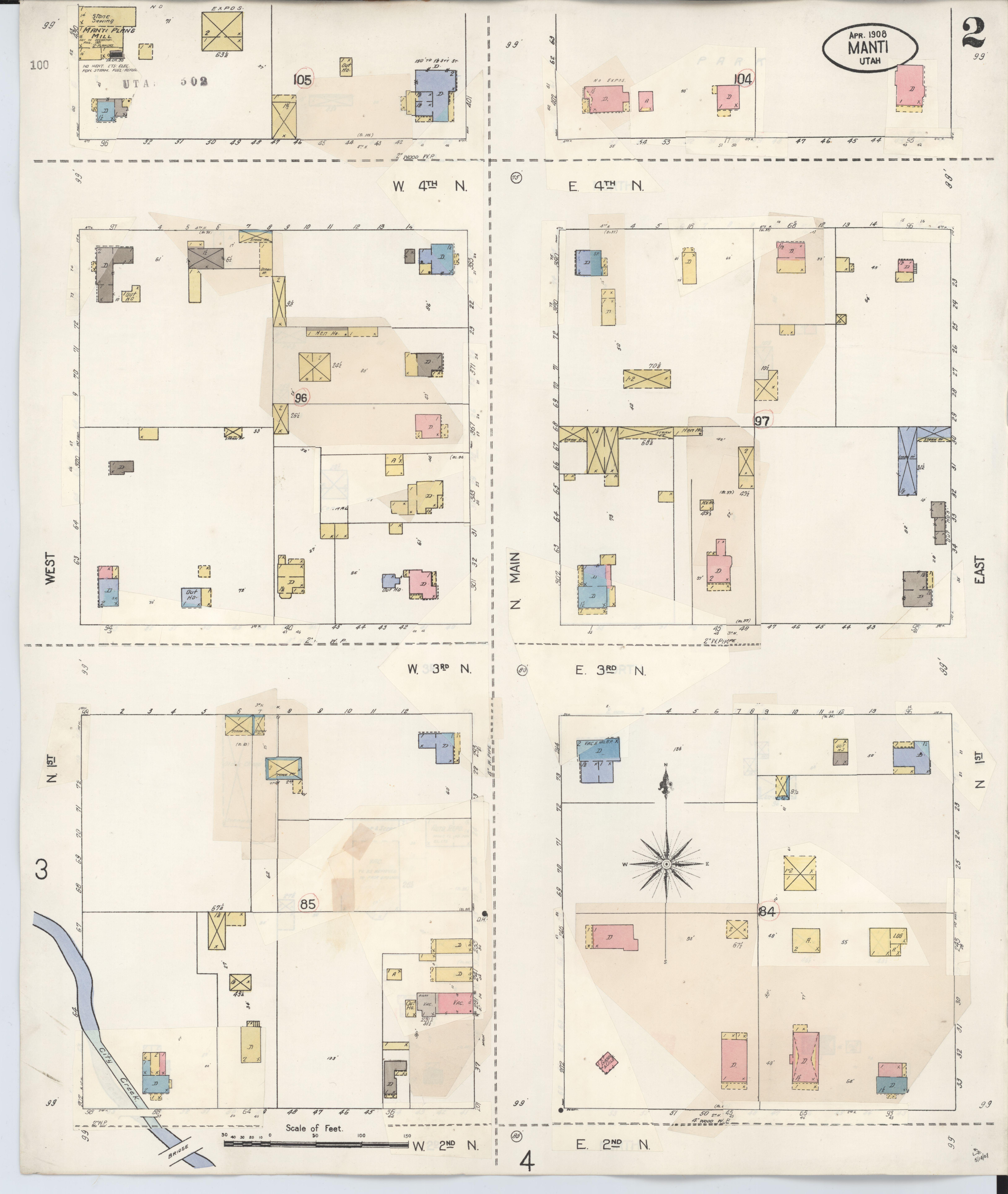 File Sanborn Fire Insurance Map From Manti Sanpete County Utah