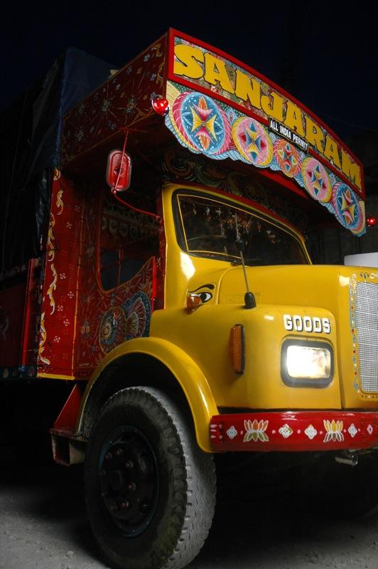 Sanjaram - truck in India.jpg