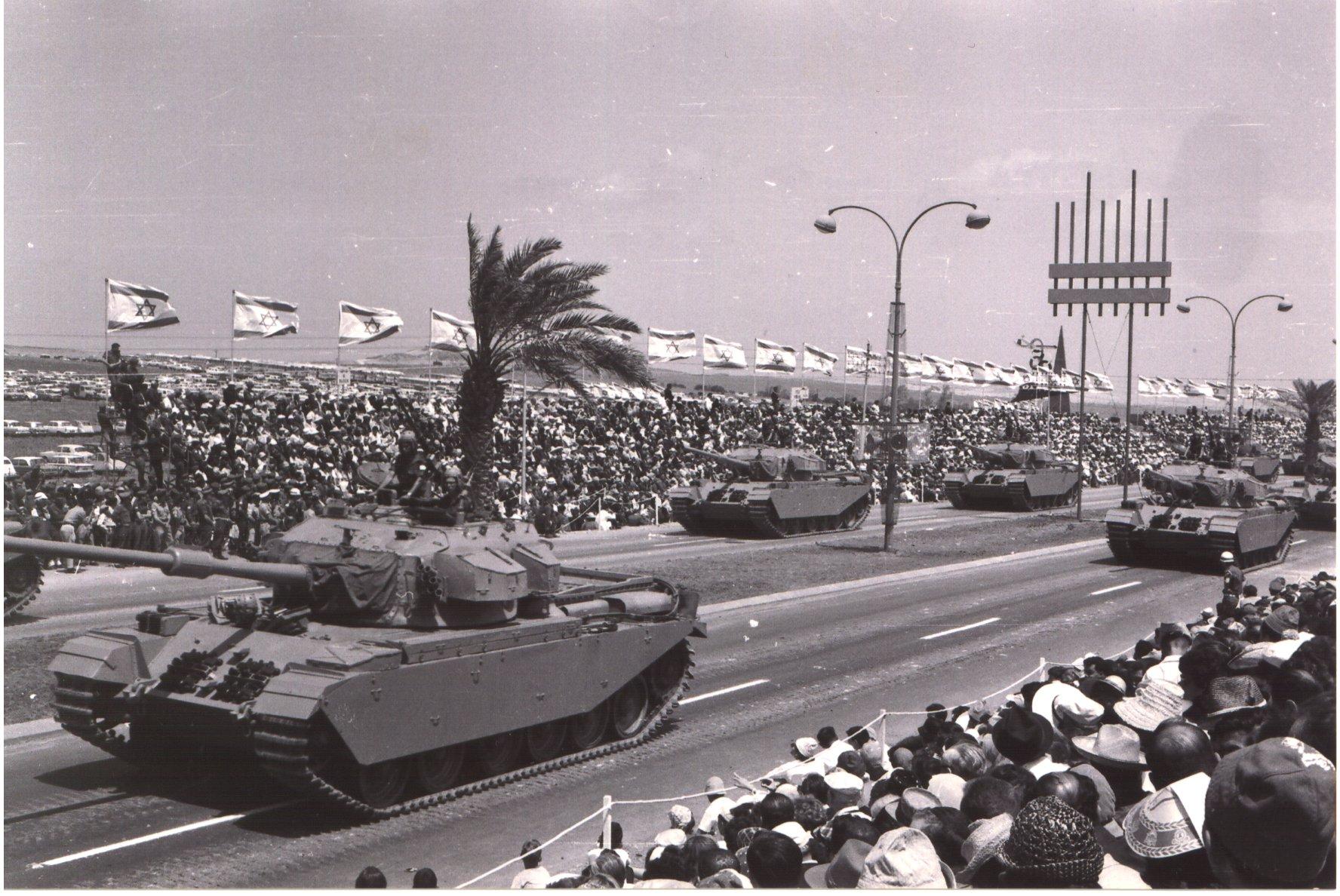 Centurion στο Τελ-Αβίβ το 1965