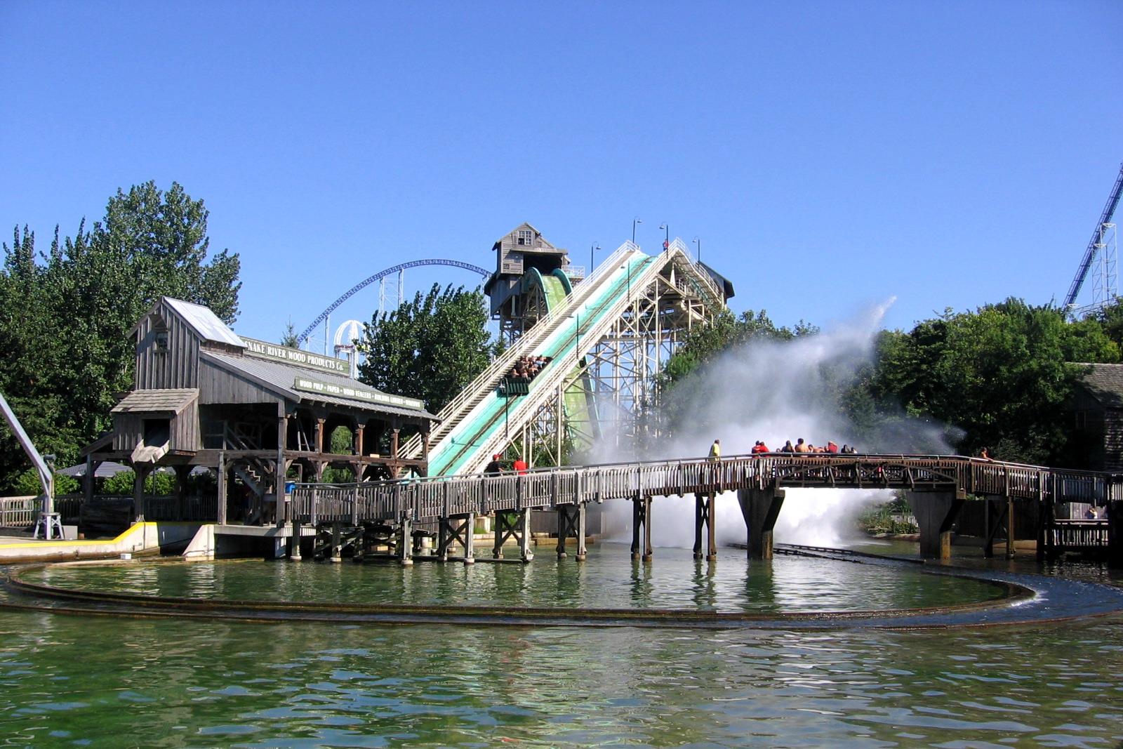 Cedar Point Snake River Falls