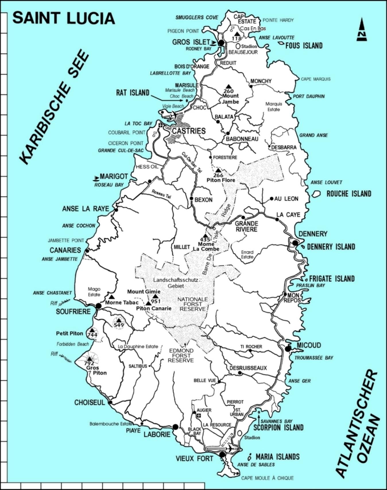 Image Result For St Lucia Original