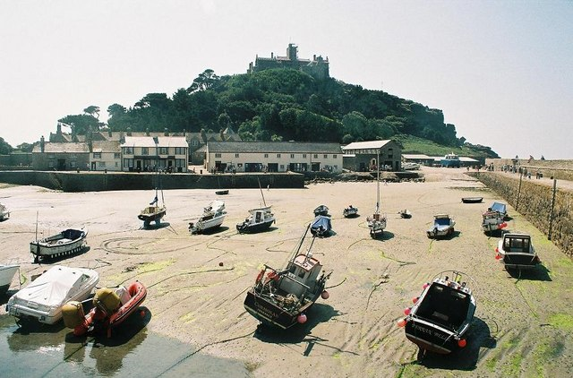 St. Michael's Mount, harbour - geograph.org.uk - 571466