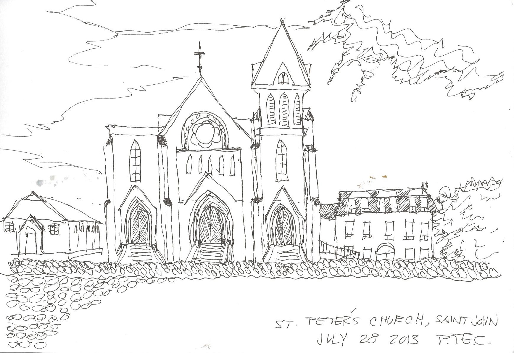 File:St peters church sketch.jpg - Wikimedia Commons