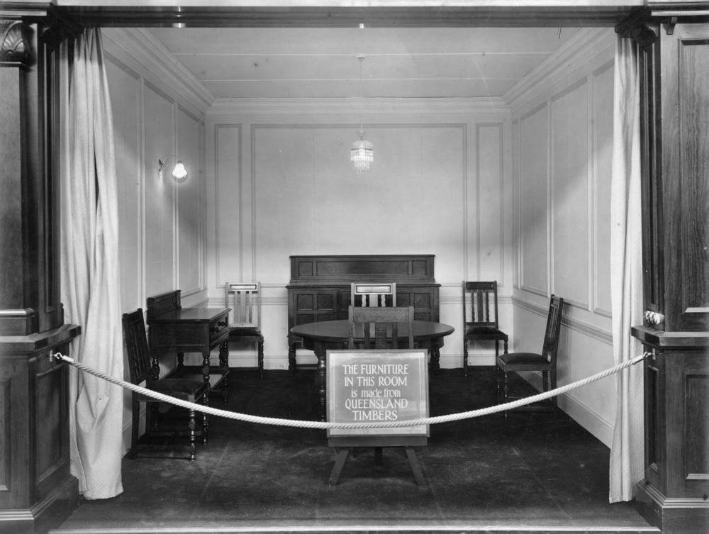 File Statelibqld 2 153083 Queensland Furniture On Display At The British Empire Exhibition 1924
