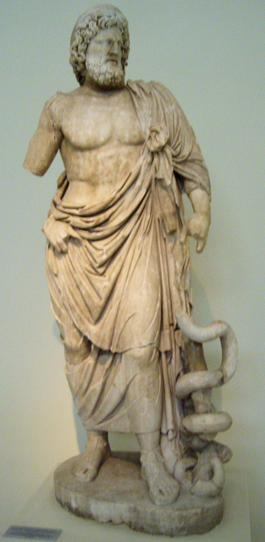 COMMODUS Asclepius Heals Bull VETERENARIUM Medicine God ...