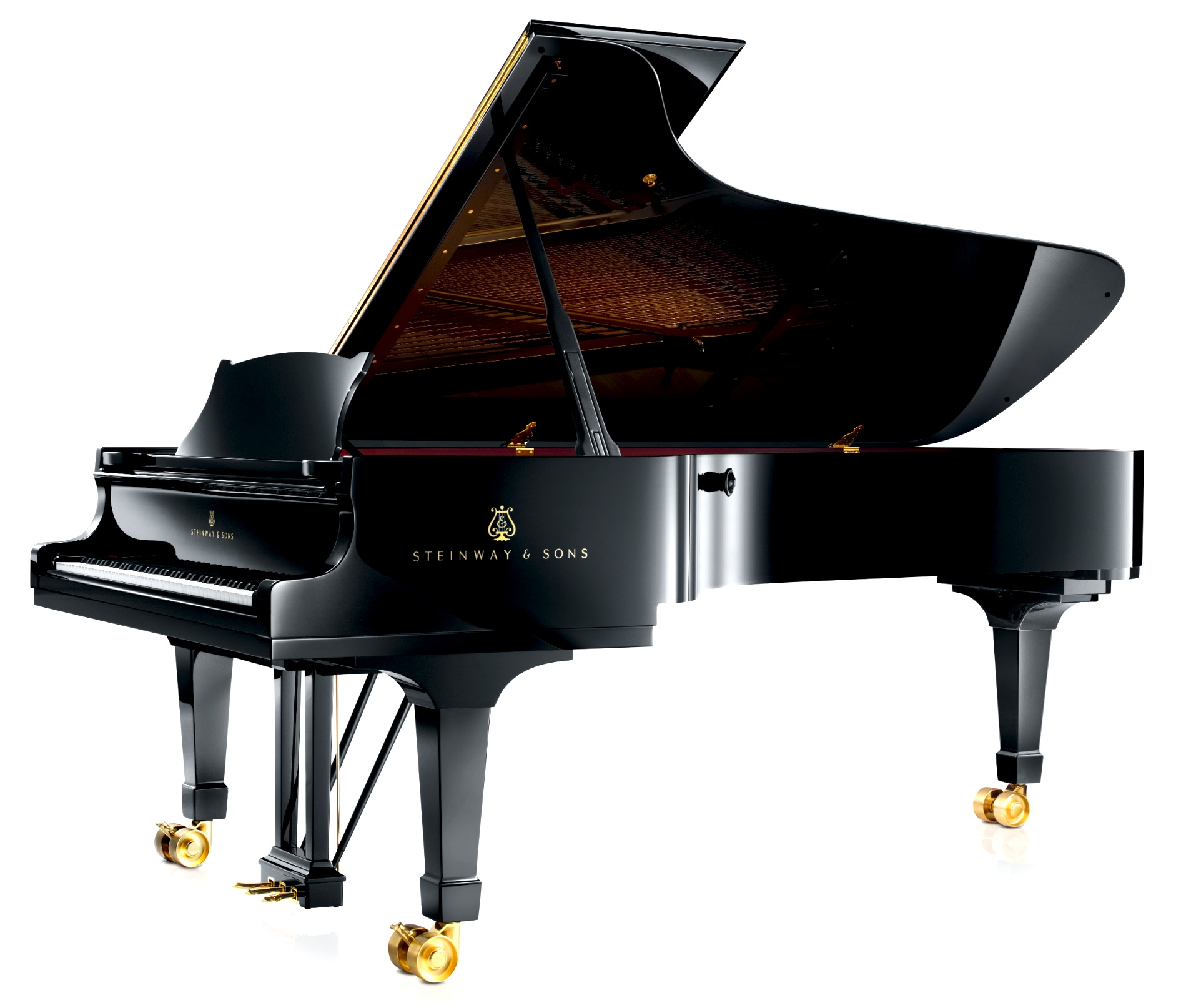 File steinway sons concert grand piano model d 274 for Big grand piano