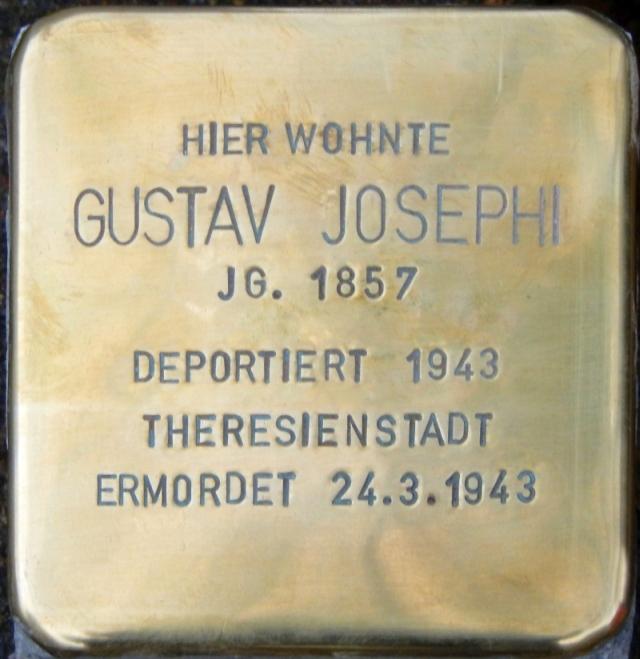 Stolperstein Parchim Josephi Gustav.jpg