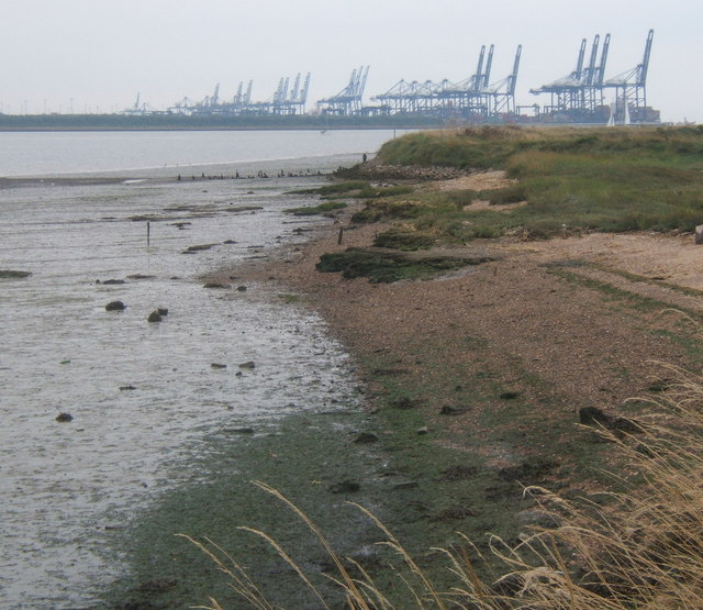 The Orwell near Collimer Point - geograph.org.uk - 941374