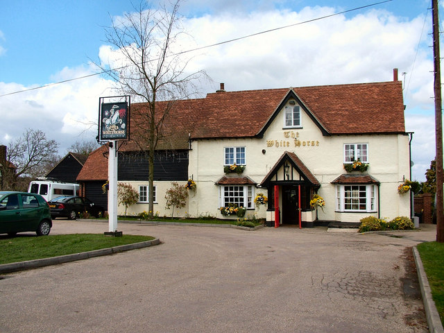 Creative Commons image of The White Horse in Welwyn Garden City