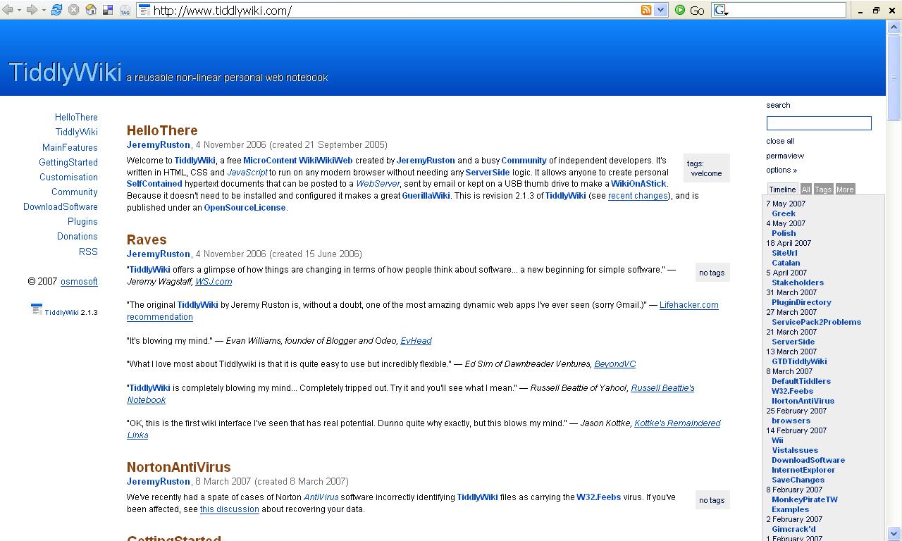 TiddlyWiki - Wikipedia