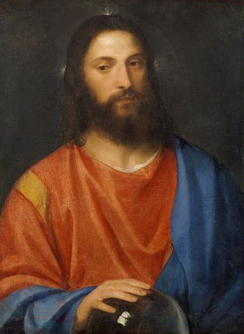 Titian.Christ with globe01