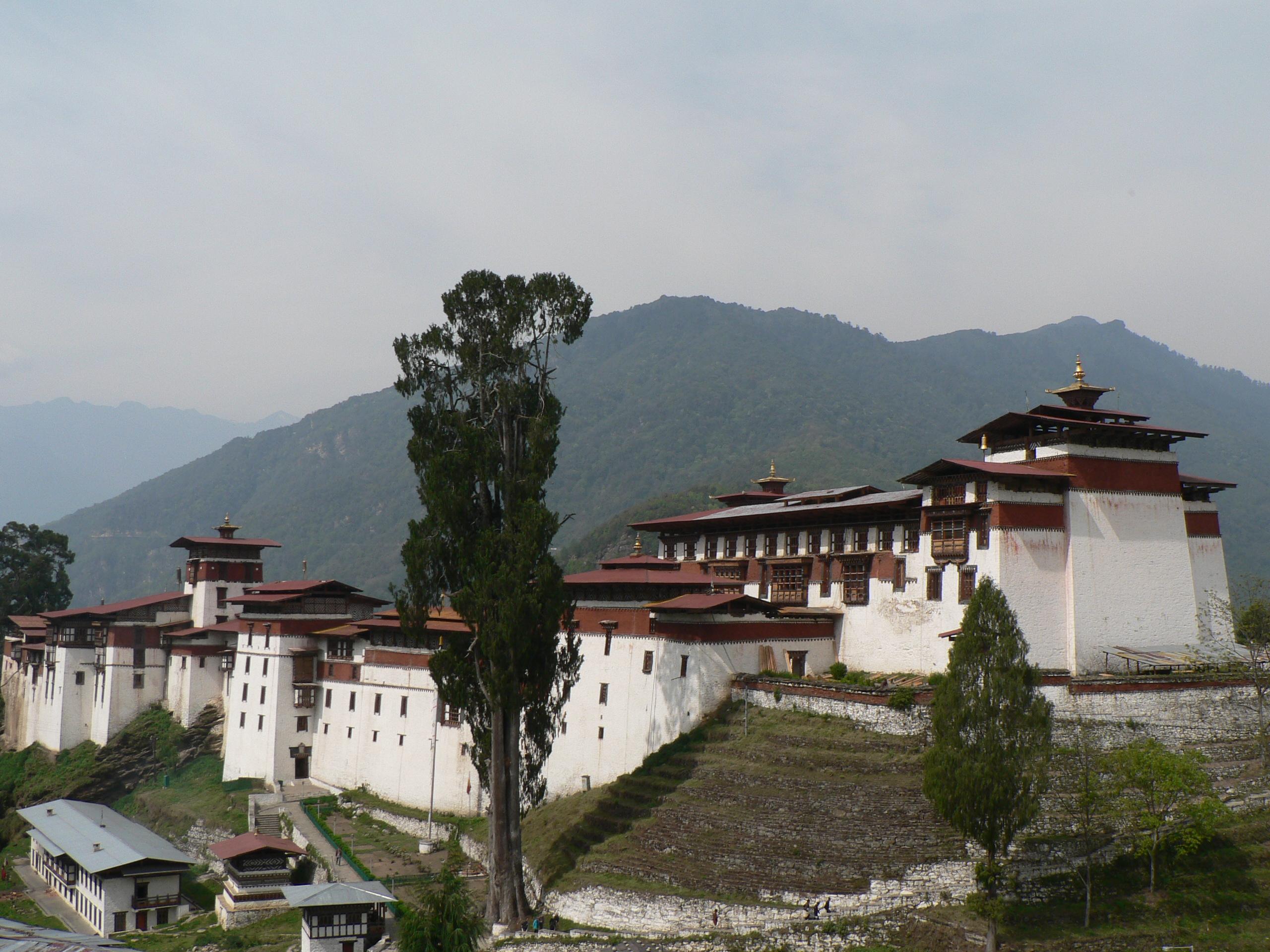 Trongsa Dzong Bhutan
