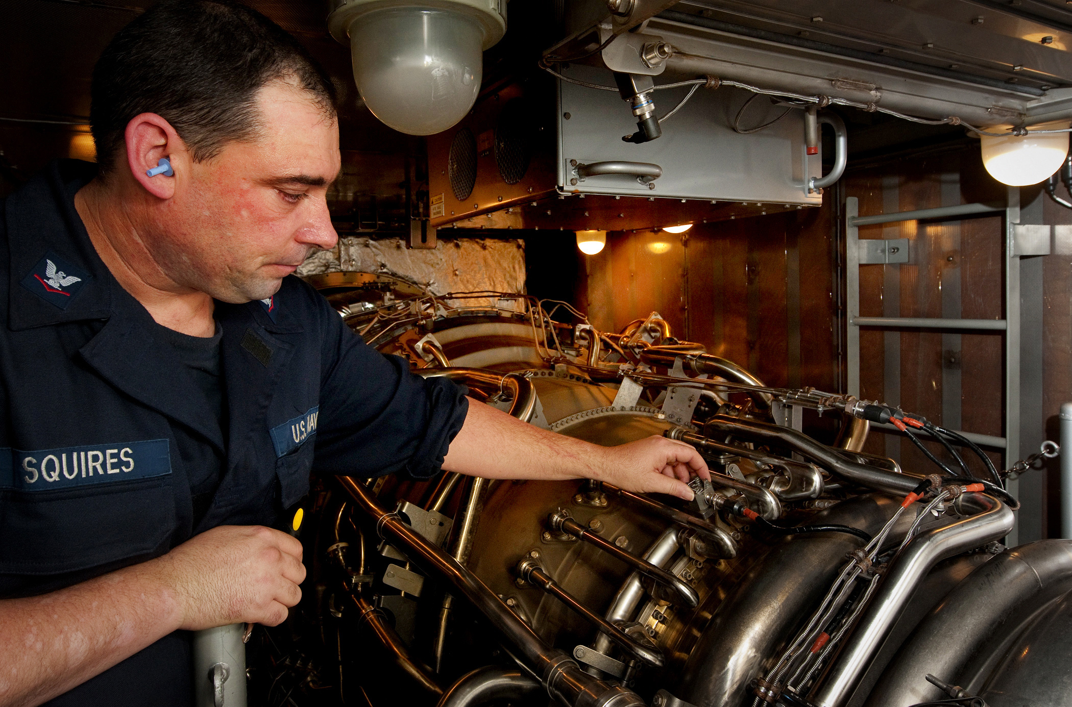 File US Navy N 9589S 195 Gas Turbine System Technician