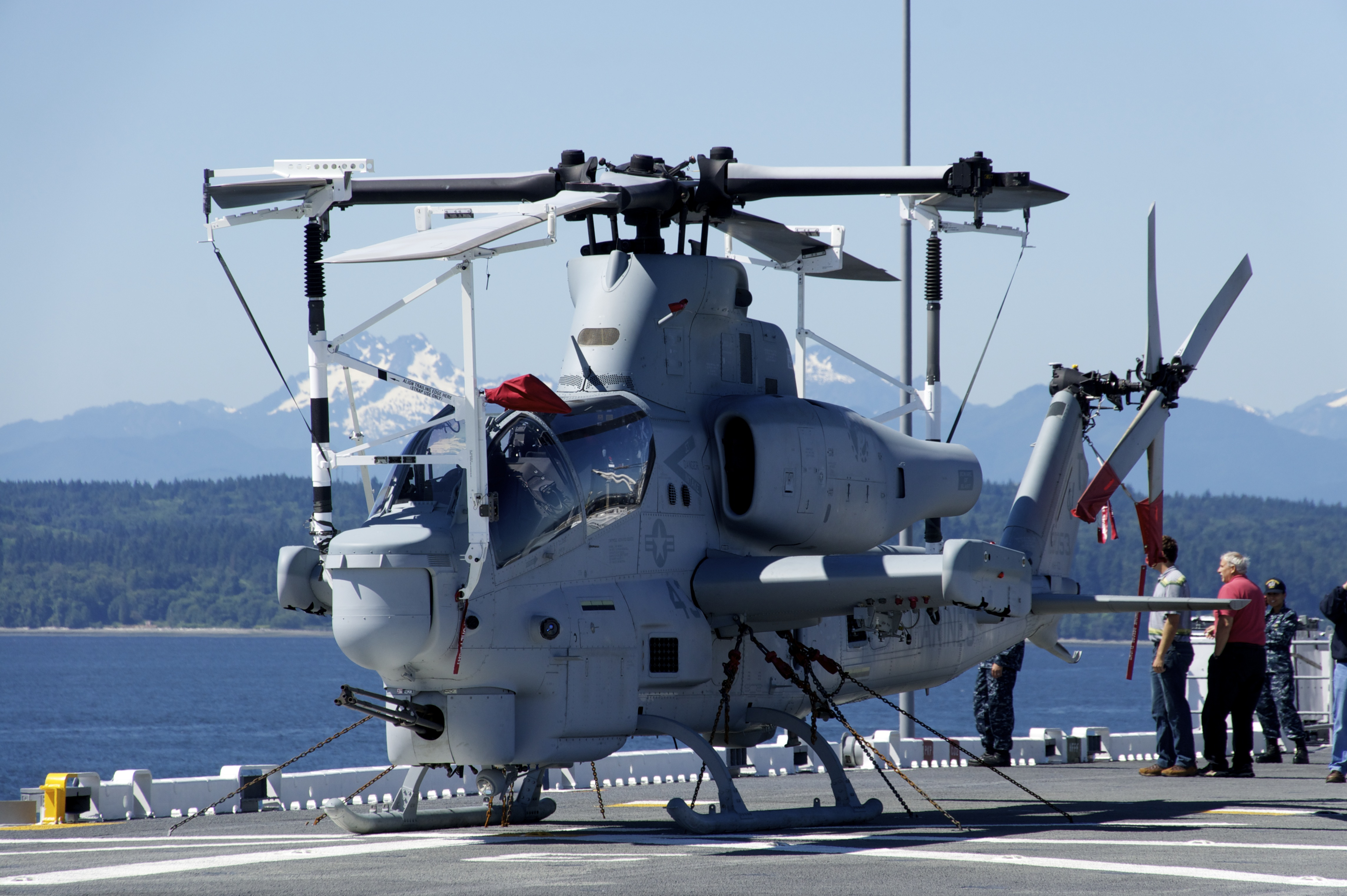 0dc668e5043f91 File US Navy 110801-N-ZC343-582 A U.S. Marine Corps AH-1W Cobra helicopter  is chained to the flight deck aboard the amphibious assault ship USS  Bonhomme.jpg