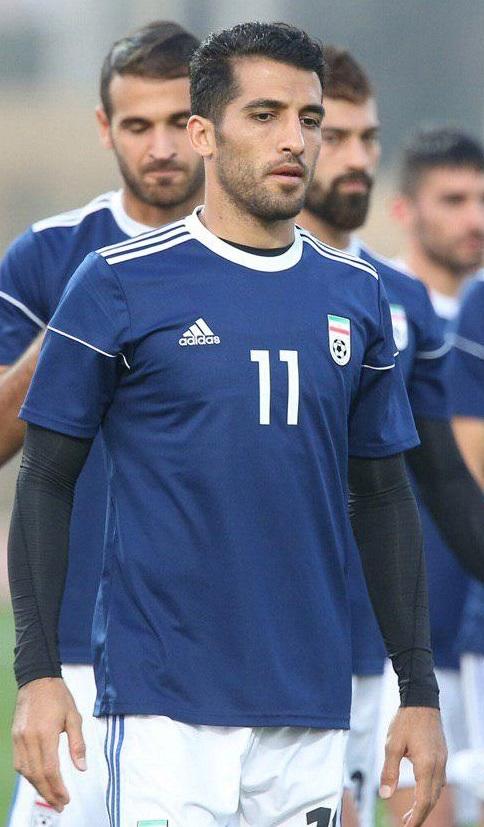 coupon code wholesale pre order File:Vahid Amiri at Iran training before Iraq match 20190115 ...