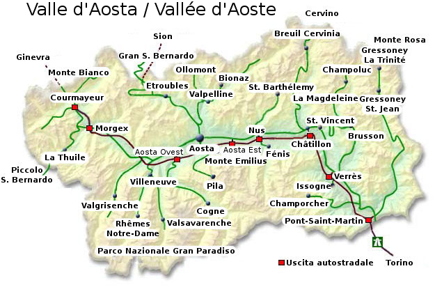 Valle D Aosta Cartina Geografica Politica.File Valle D Aosta Map It Jpg Wikipedia