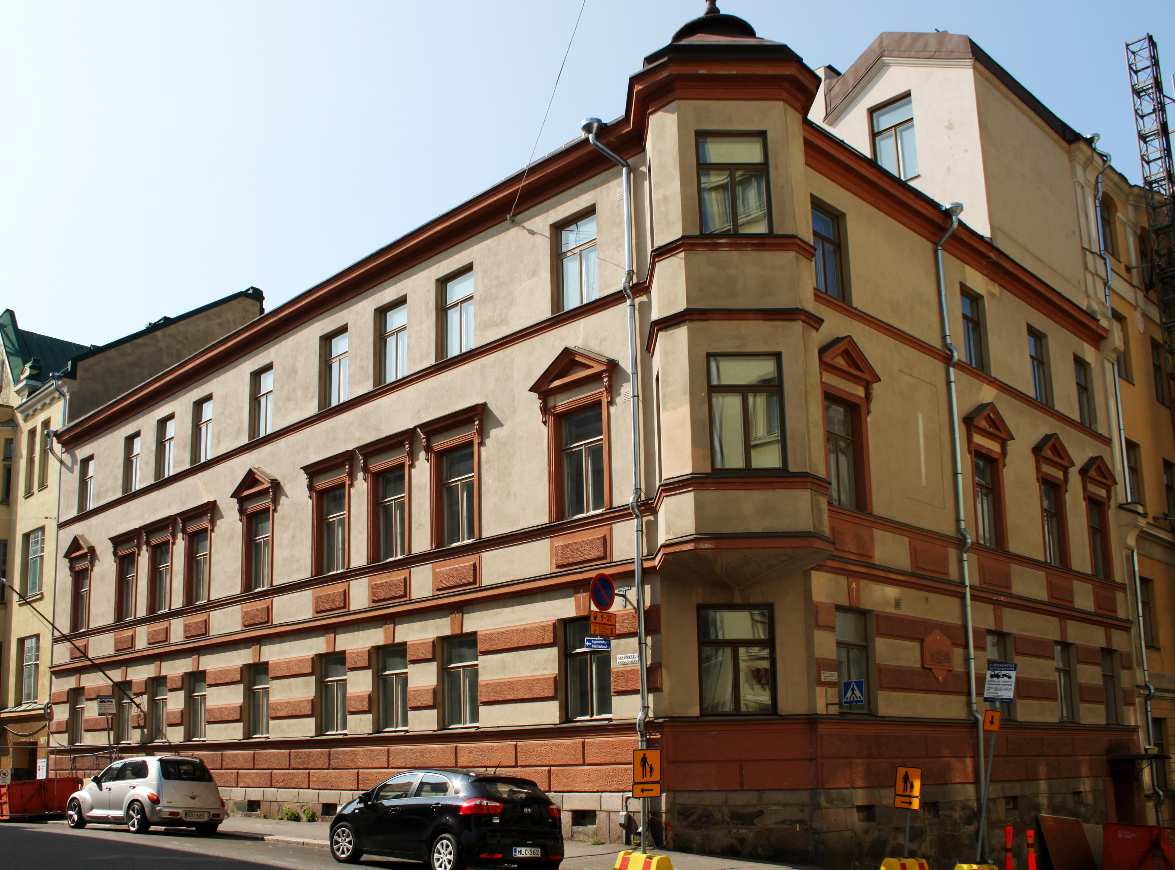Tiedosto Vironkatu 1 Helsinki Jpg Wikipedia